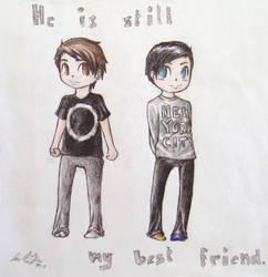 Dan and Phil by HyruleLuisa