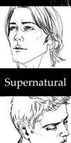 Bookmark. Supernatural by Herbst-Regen