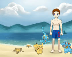 Fun At The Beach by JapaneseGodzilla1954