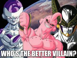 Who's The Better Villain? by JapaneseGodzilla1954