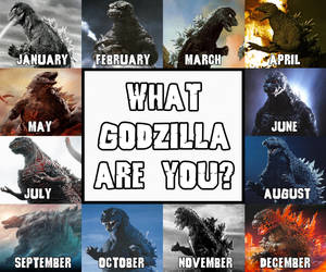 What Godzilla Are You? by JapaneseGodzilla1954