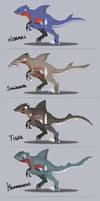 Gabite Species by GrolderArts