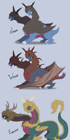 Zweilous Species by GrolderArts