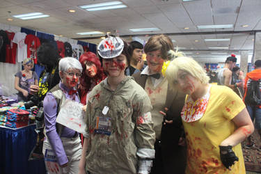 mad cry and five nights at freddys by cosplayplz