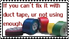 duct tape stamp by meljoy68