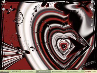 February Desktop 2009 by KittyAnnStudio