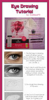 Eye Drawing Tutorial by GabrielleBrickey