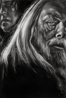 Dumbledore and Snape by GabrielleBrickey