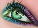Eye Drawing by GabrielleBrickey