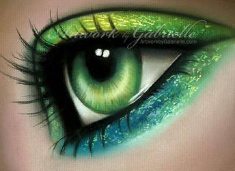 Mermaid Eye by GabrielleBrickey