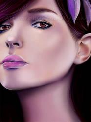 Violet by GabrielleBrickey