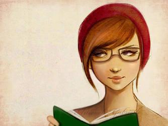 Bookworm by GabrielleBrickey