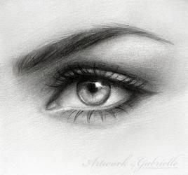 .Eye Drawing. by GabrielleBrickey