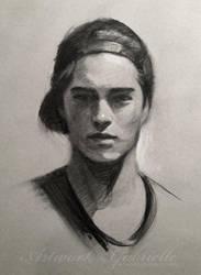 Portrait Practice by GabrielleBrickey