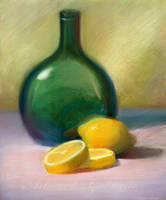 Lemon Still Life by GabrielleBrickey