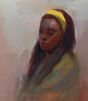 Jasmine Oil Painting by GabrielleBrickey