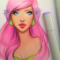 Copic WIP by GabrielleBrickey