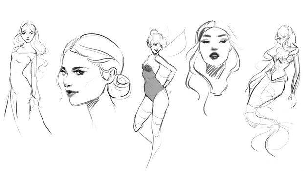 Sketches by GabrielleBrickey