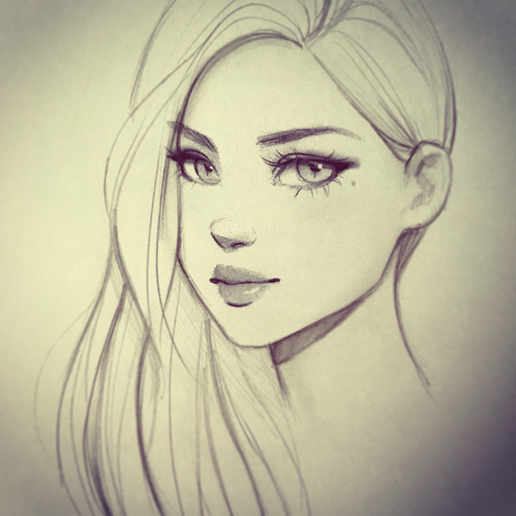 Female Character Drawing Class by GabrielleBrickey