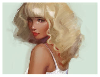 Shy by GabrielleBrickey