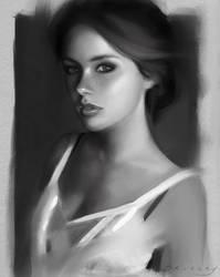 Portrait Drawing by GabrielleBrickey