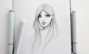 Copic Sketch by GabrielleBrickey