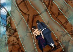 Itachi y Sasuke by akatsukiland