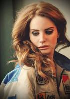 Lana Del Rey by KINANOOO