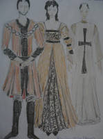 Romeo and Juliet costumes III. by Silmarilian