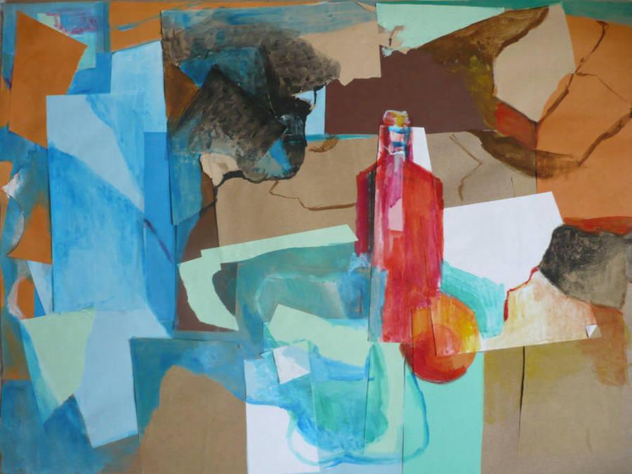 Abstract Still Life Collage by Silmarilian