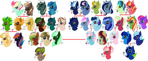 5pt Pony Adoptables (20/36 OPEN) by gelertyfun4every1