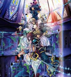 Kingdom Hearts by hearthaert