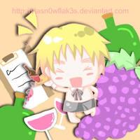 chibi waiter by vLaSn0wfLak3s