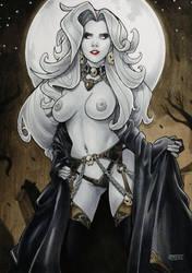 Lady Death by jvsJuanVargas