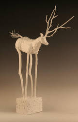 White Deer by Cess9