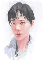 Yuu Aoi by 4leafcloverVN
