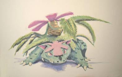 #501 - 003 Mega Venusaur by RodentNomNom