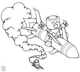 Servbot Missile Commission by terrastardroid