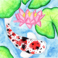 Koi Watercolor by terrastardroid