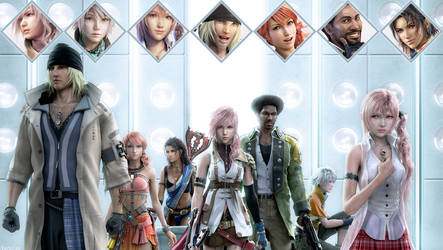 Final Fantasy XIII (4) by AuraIan