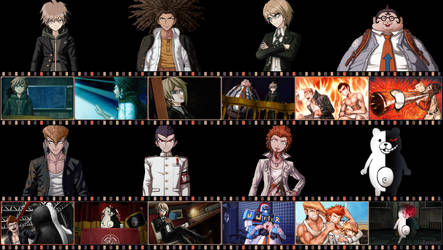 DanganRonpa (4) - Version 2 - by AuraIan