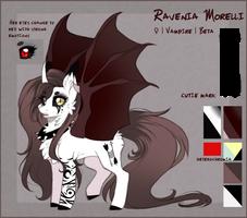 [Main OC] Ravenia Morelli REF 2018 by Ravenia-Morelli