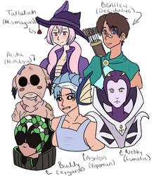 Pokemon Moon Team [GIJNKA] by SprinklesOfMelody
