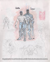 BLUE DEMON JR Studies. 7 by Galtharllin