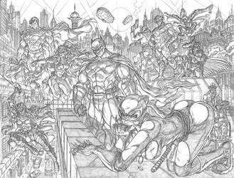 Batman Gang by Galtharllin