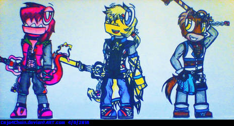 The Waffernites in Kingdom Heart(COLLAB!) by Ceja4Chain