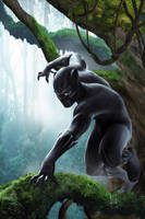 Black Panther by JacksDad