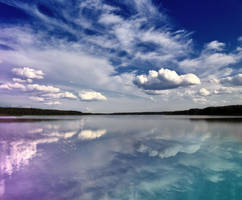 the sky over Lake by Jester-Genso