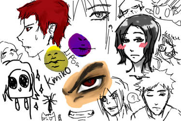 Doodle.... by kurokim97