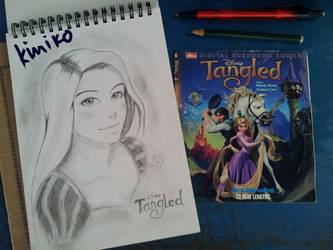 Disney Tangled - Rapunzel by kurokim97